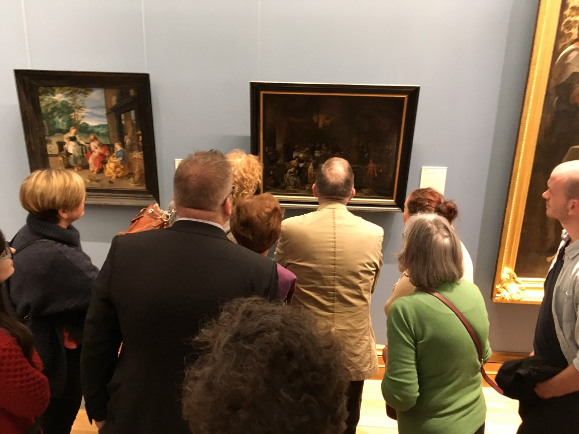 How to Read a Painting Tour, with Dublin Decoded, mid shot