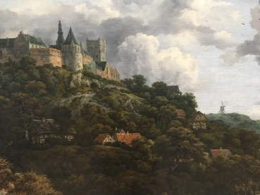 Jacob van Ruisdale the castle at Blentheim copyright National Gallery of Ireland
