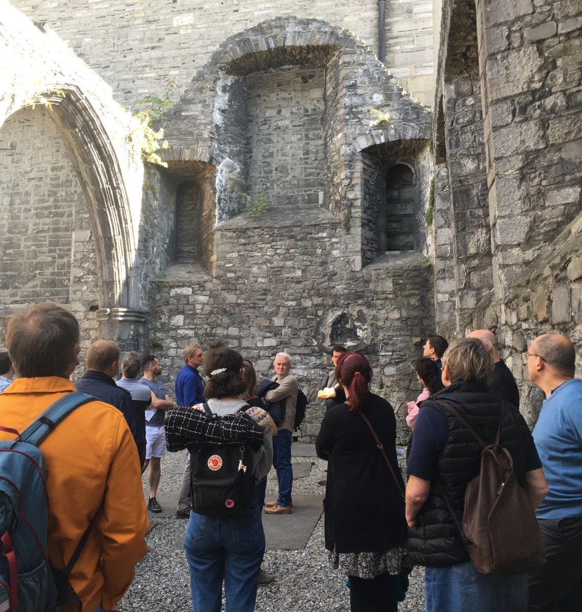 Dublin Medieval Walls Walking Tour , with Arran Henderson of Dublin Decoded 2