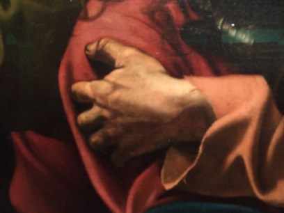 How to Read a painting DEtail, from Dublin DEcoded at the Nationa-l Gallery of ireland