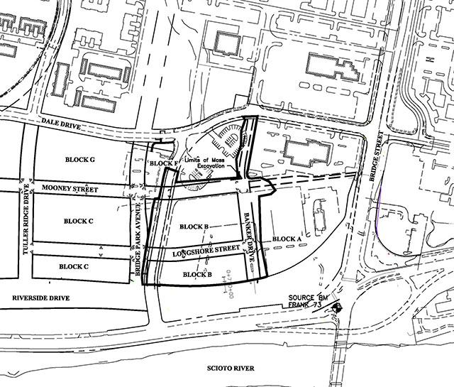 Dublin, Ohio, USA » Bridge Park B-Block Mass Excavation