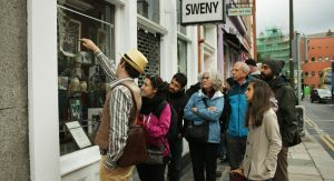 Sweny's Pharmacy Window, a Dublin's touristic point