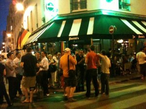 Patricks Irish Whiskey Pub Paris