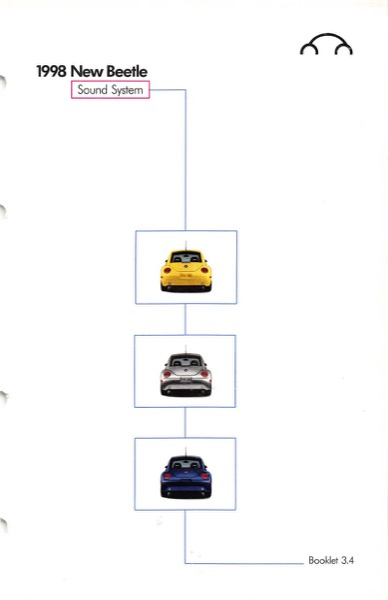 1998 Volkswagen Beetle Owners Manual in PDF