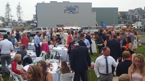 Seabrook wedding lawn