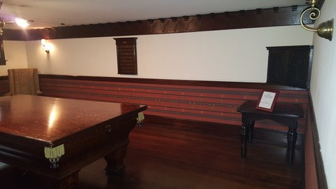 stimson green mansion seattle billiard room