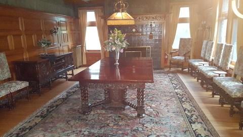 stimson green mansion seattle buffet room