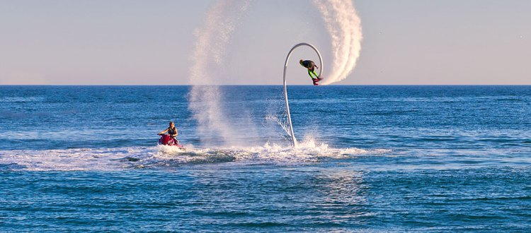 Flyboard - our new adrenaline offer