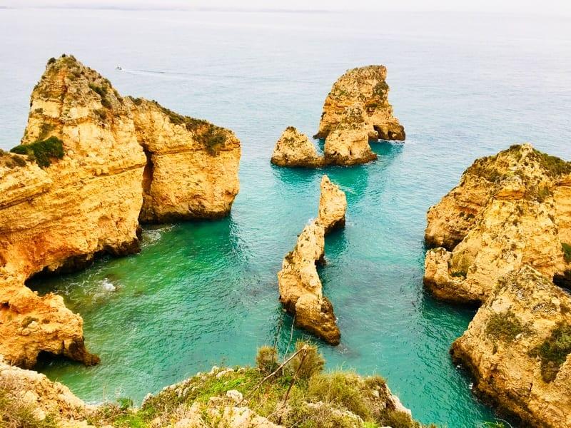 Küsten in der Algarve