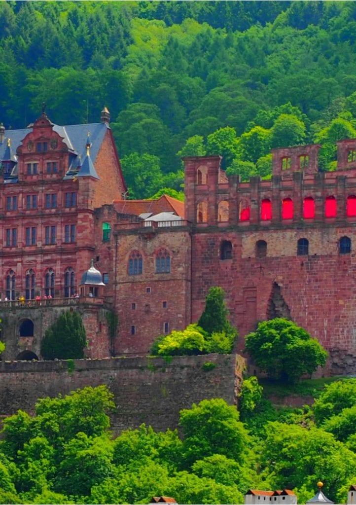 Heidelberg Schloss Mitte