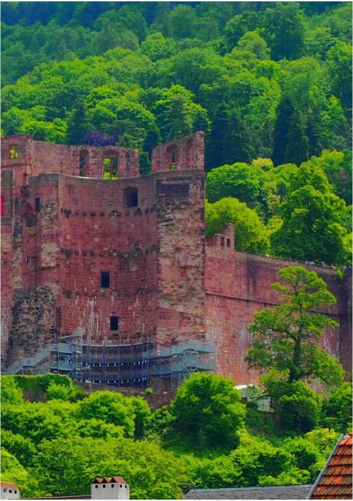 Heidelberg Schloss rechter Flügel