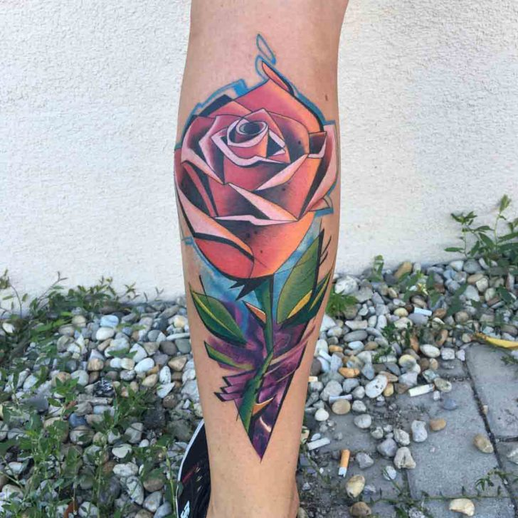 New Rose Tattoo  Best Tattoo Ideas Gallery