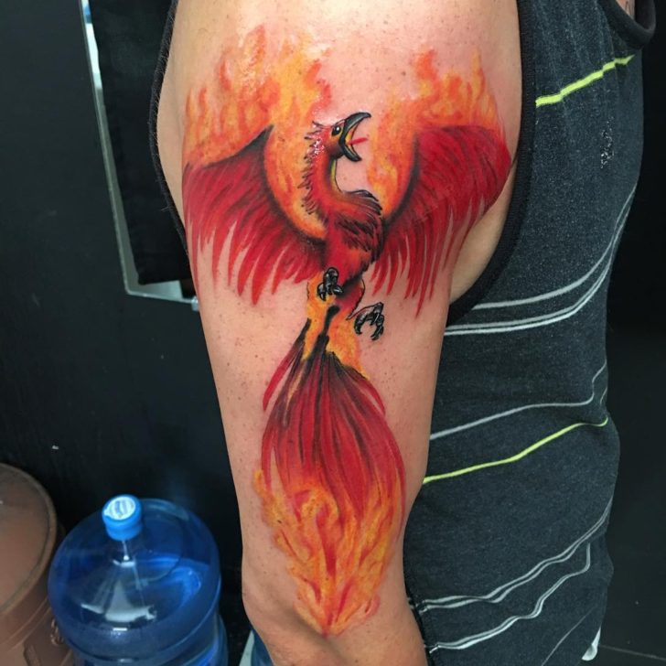 60 Best Phoenix Tattoo Designs  The Coolest Symbol For