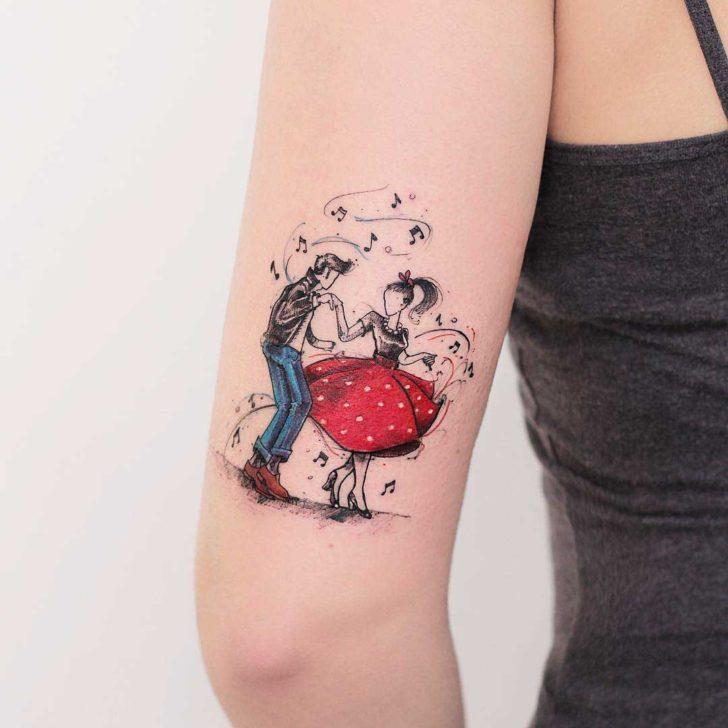 Rockabilly Tattoo Design  Best Tattoo Ideas Gallery