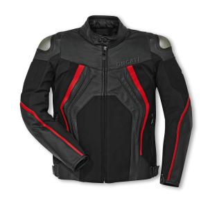 Ducat leer/textiel jas Fighter C1 €494,91