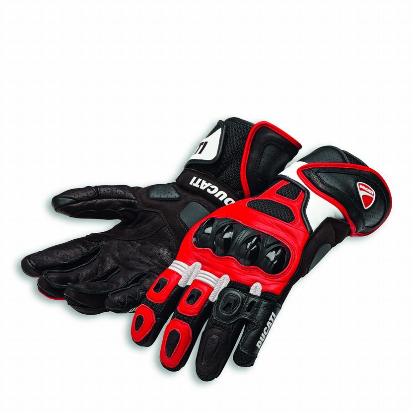 Ducati handschoen Speed Air C1 rood/zwart L - 3XL