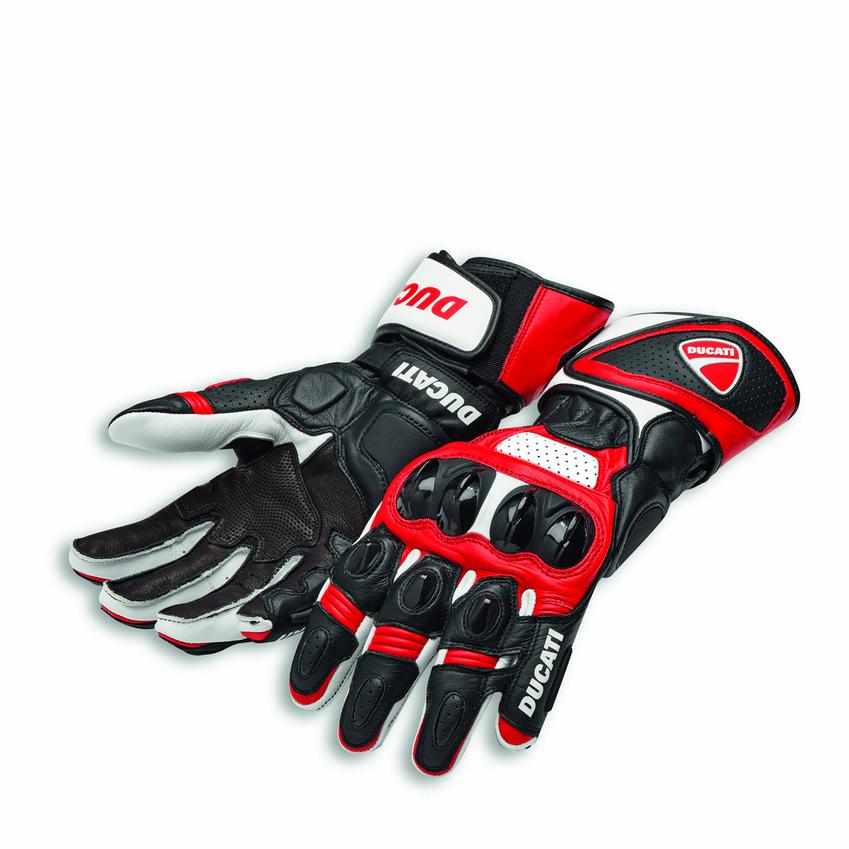 Ducati handschoen Speed Evo C1 rood/zwart € 177,53 M t/m 2XL
