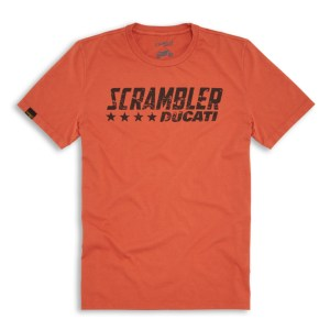 T-shirt Ducati Orange Flip SCR
