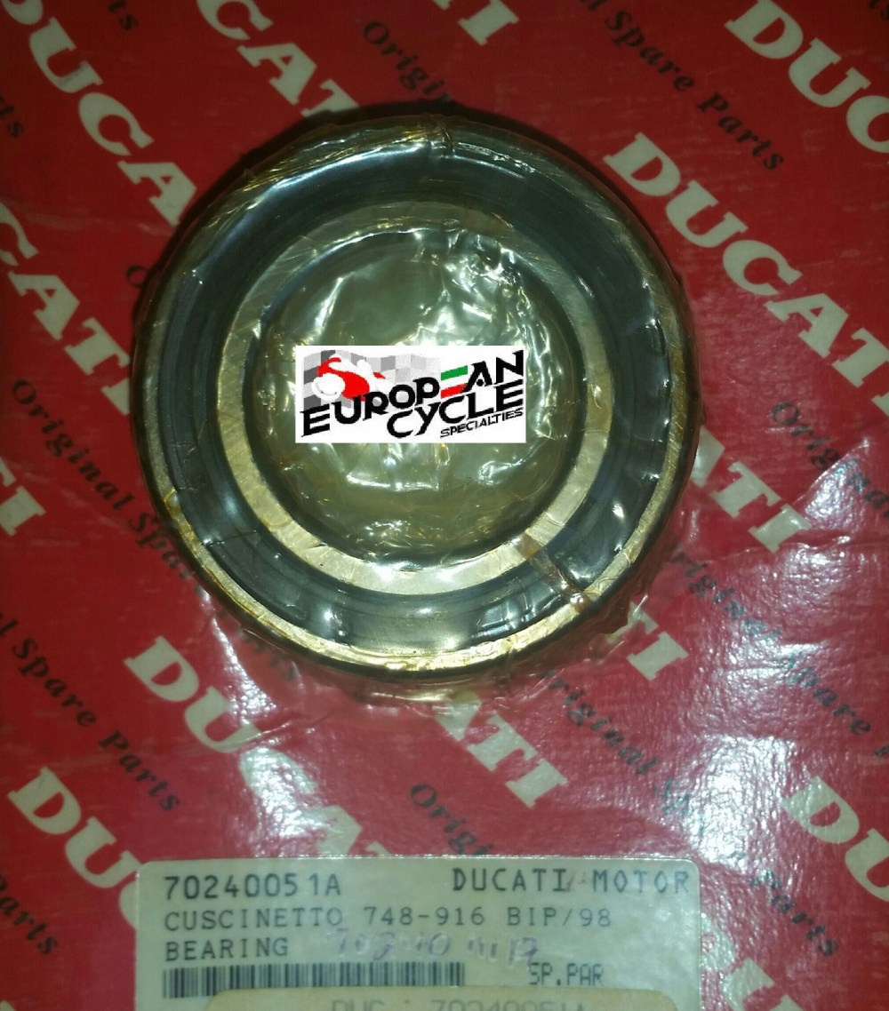 medium resolution of 1 pair oem ducati 748 916 double sealed wheel bearings measuring 35x62x14mm each also ducati 70240051a