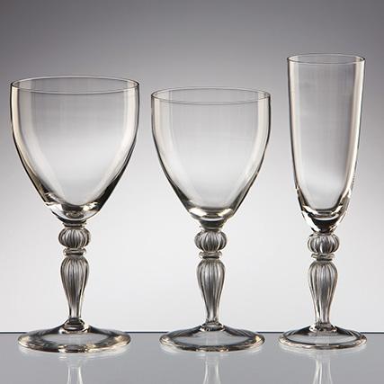 COLLEZIONE CALLIOPE CALICE ACQUA -  CALICE VINO - CALICE FLUTE Calliope Collection Water Goblet - Wine Goblet - Flute Goblet    H 19 / H 18 /H 20,7 cm