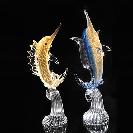 MARLIN PIUMATO  Plumed Marlin Fish  H 60 cm
