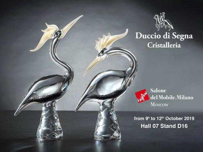 Salone del Mobile.Milano 2019 Cristalleria Duccio di Segna