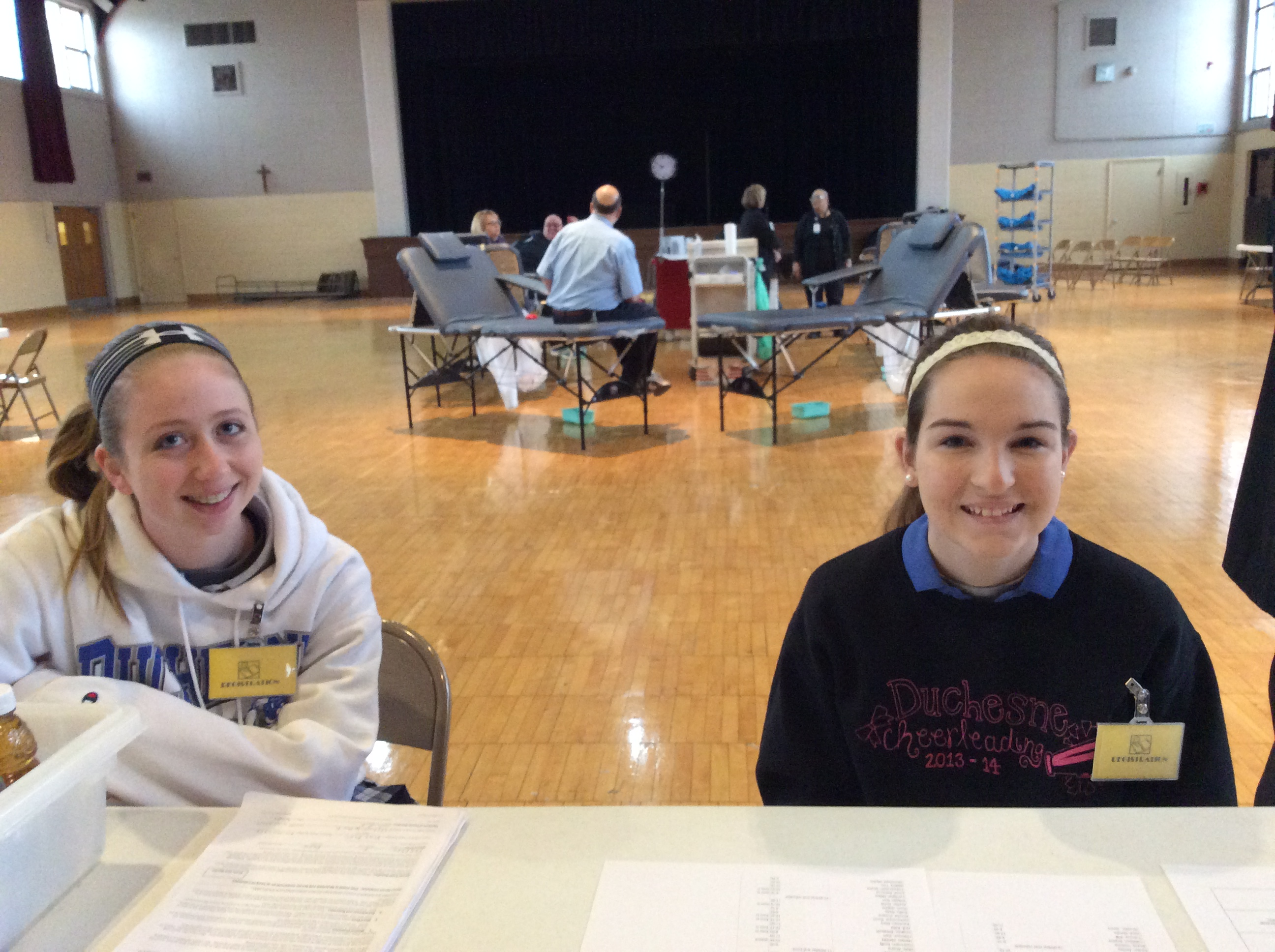 Duchesne High School Ice Hockey Duchesne High School Blood Drive