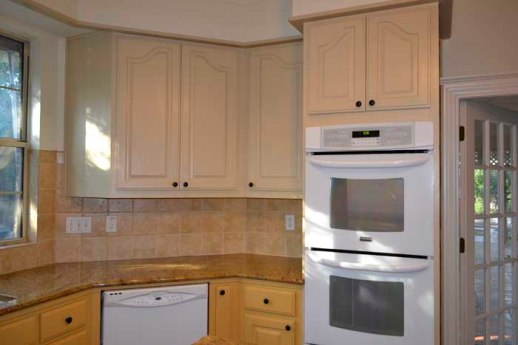 Stove area--before