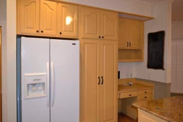 Fridge area, before remodel
