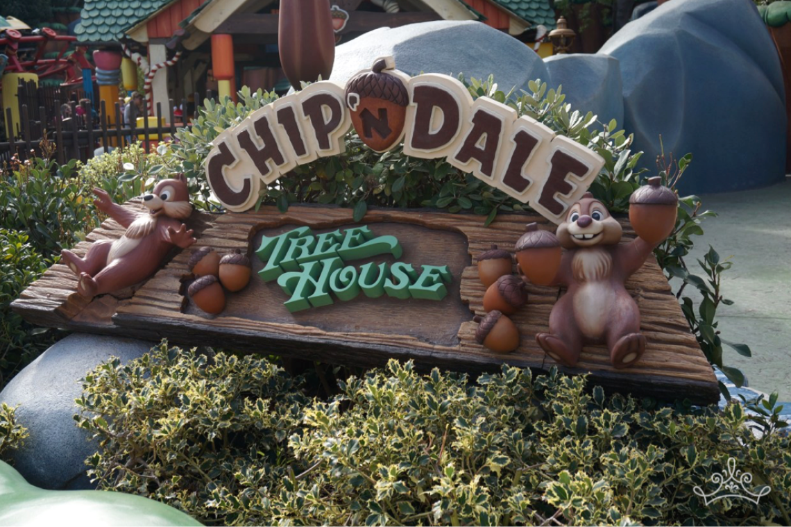 Chip 'n' Dale Treehouse