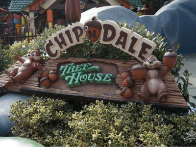 Chip n Dale Treehouse