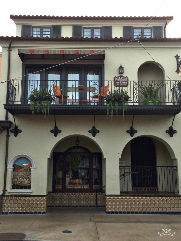 Buena Vista Street Mailboxes