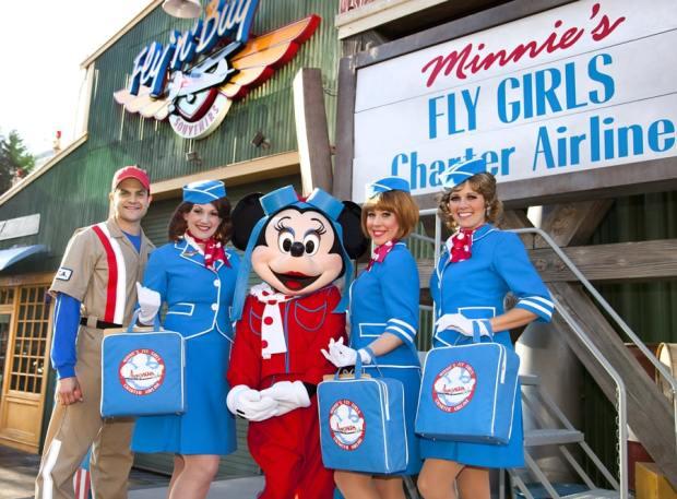 Minnie's Fly Girls