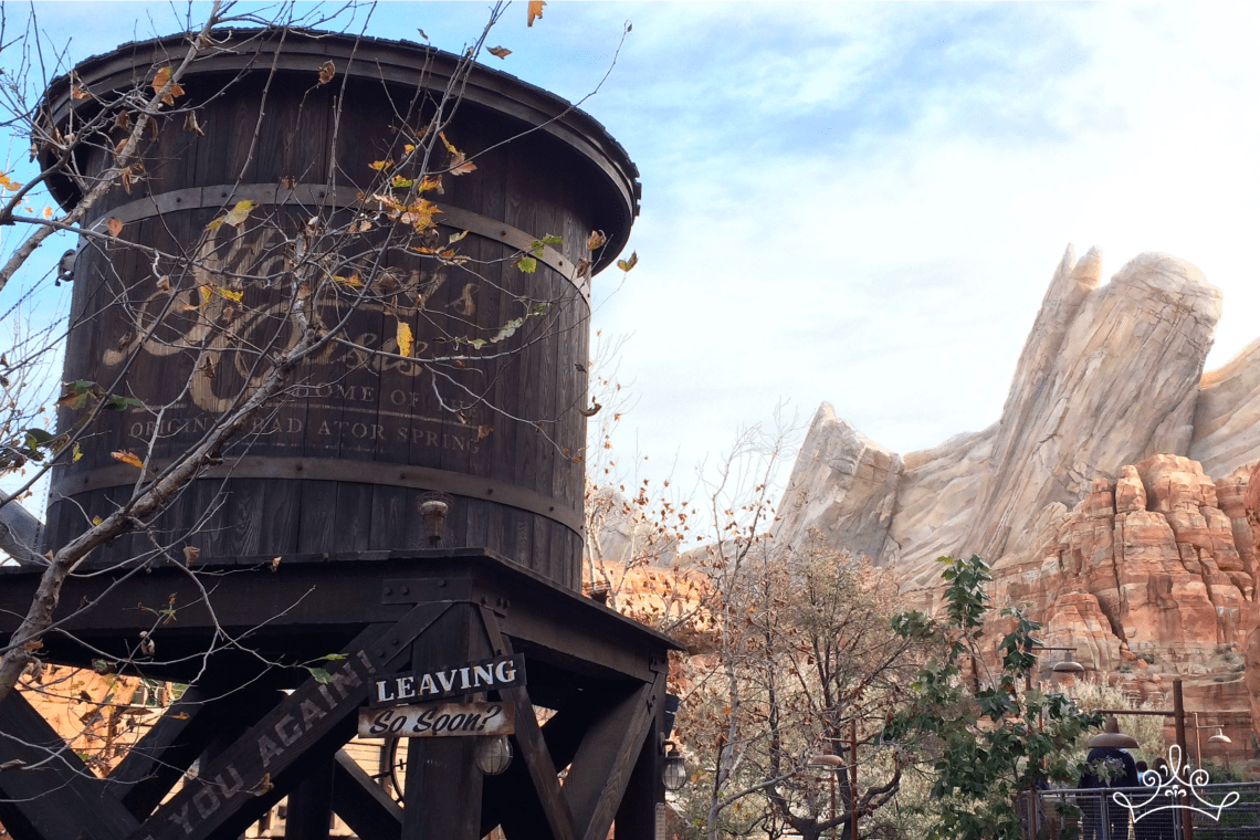 Lands In Pictures: Cars Land