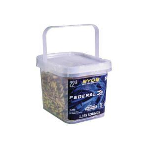 Federal Bring Your Own Bucket .22LR 36 Grain 1275 RDs