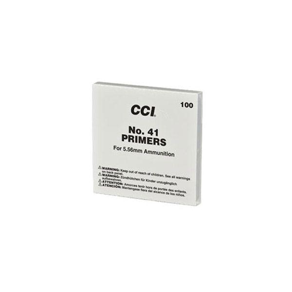 CCI #41 – 5.56 Small Rifle Military Primers – 1000 pcs