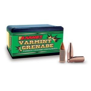 Barnes Varmint Grenade Bullets