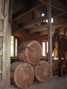 Przymierzamy się do ścianki z w technologii cordwood construction