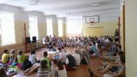 Były też wystąpienia, zajęcia i koncerty na sali gminastycznej