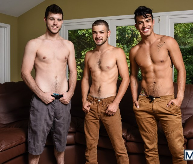 Porn Gay Sex Muscle Men Hunk Threesome