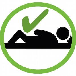 lying down 2