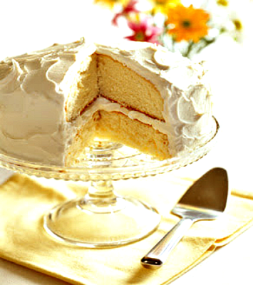 Easy white cake recipe from scratch