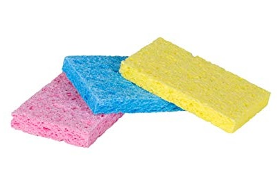 Simple household sponge like mom used! #tips