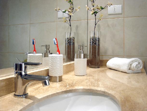 beautiful bathrooms; small bathroom; bathroom redo