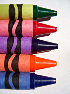 how to clean crayon off of everything by Ducks 'n a Row