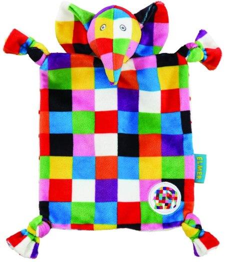 Elmer patchwork elephant comforter blanket
