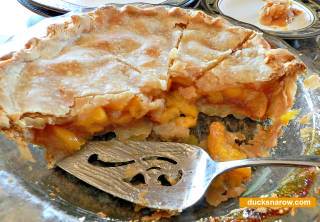 easy desserts, peach pie, how to bake a peach pie