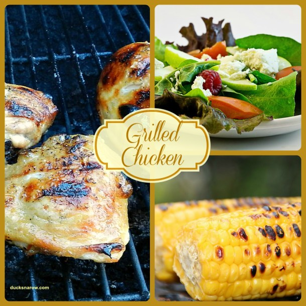 Beer marinated grilled chicken
