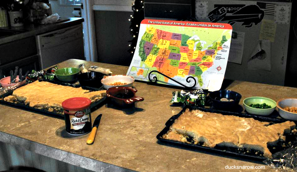 US cookie map, edible map, geography lesson #sugarcookies