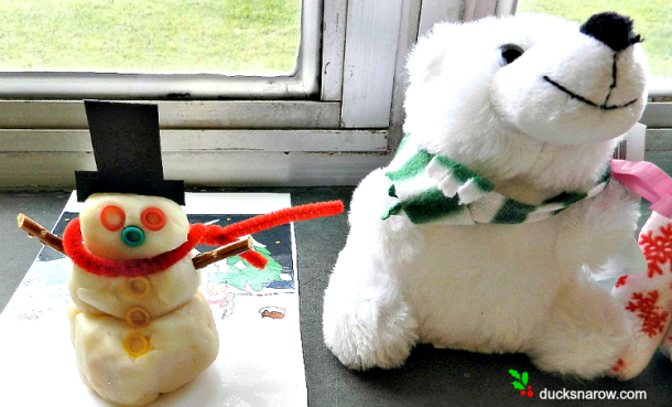#kidscrafts #holidaycrafts #snowman